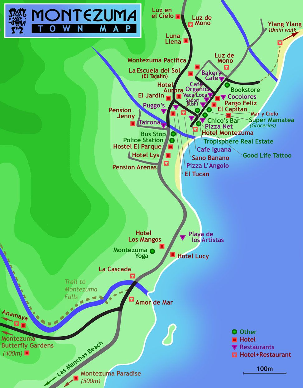 playa montezuma costa rica map Montezuma Costa Rica Montezuma Costa Rica Costa Rica Map Costa Rica Vacation playa montezuma costa rica map
