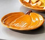 Pumpkin Salad Plate | Pottery Barn