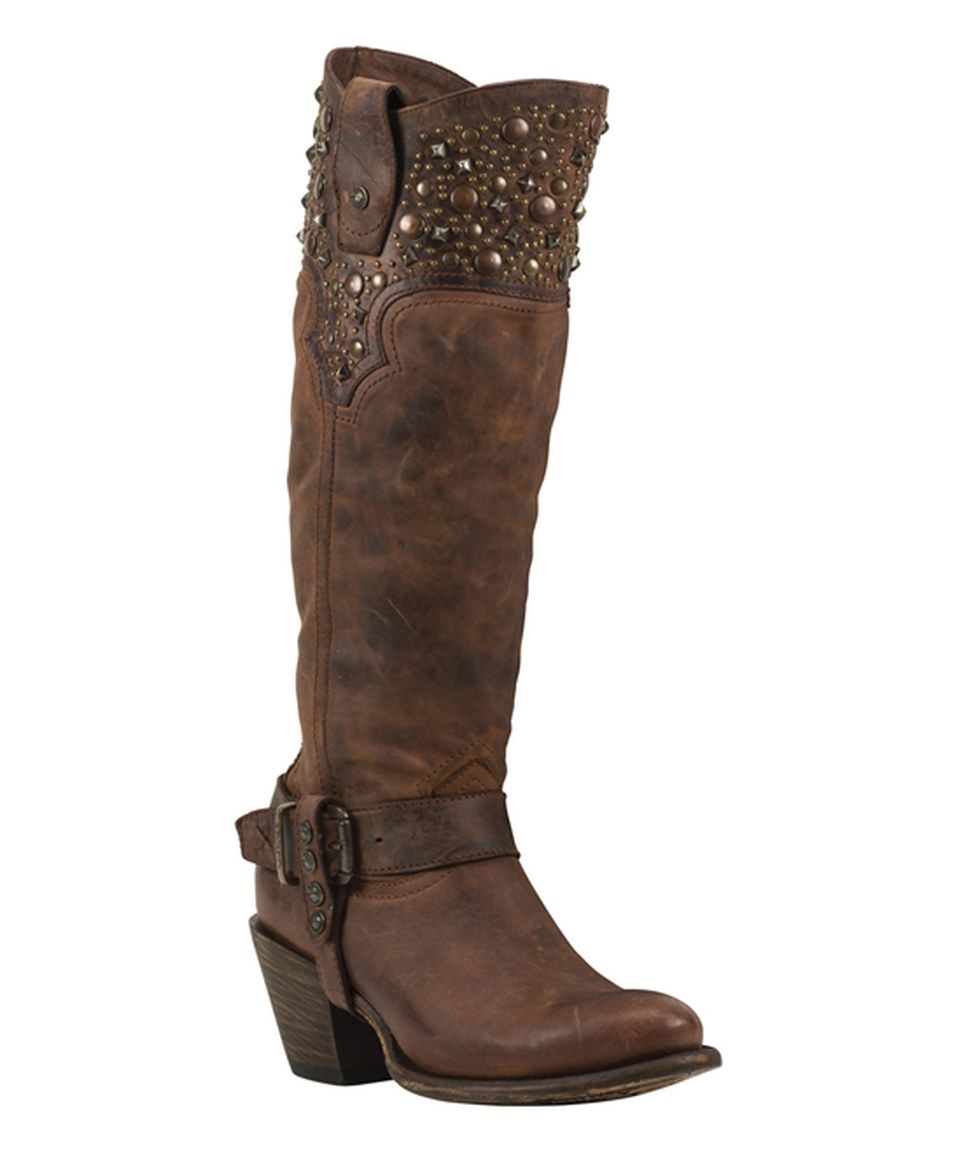 Look what I found on #zulily! Black Star Rust Regulus Leather Cowboy Boot by Black Star #zulilyfinds