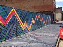Fence Weaving Could Use Plastic Bags To Create Art