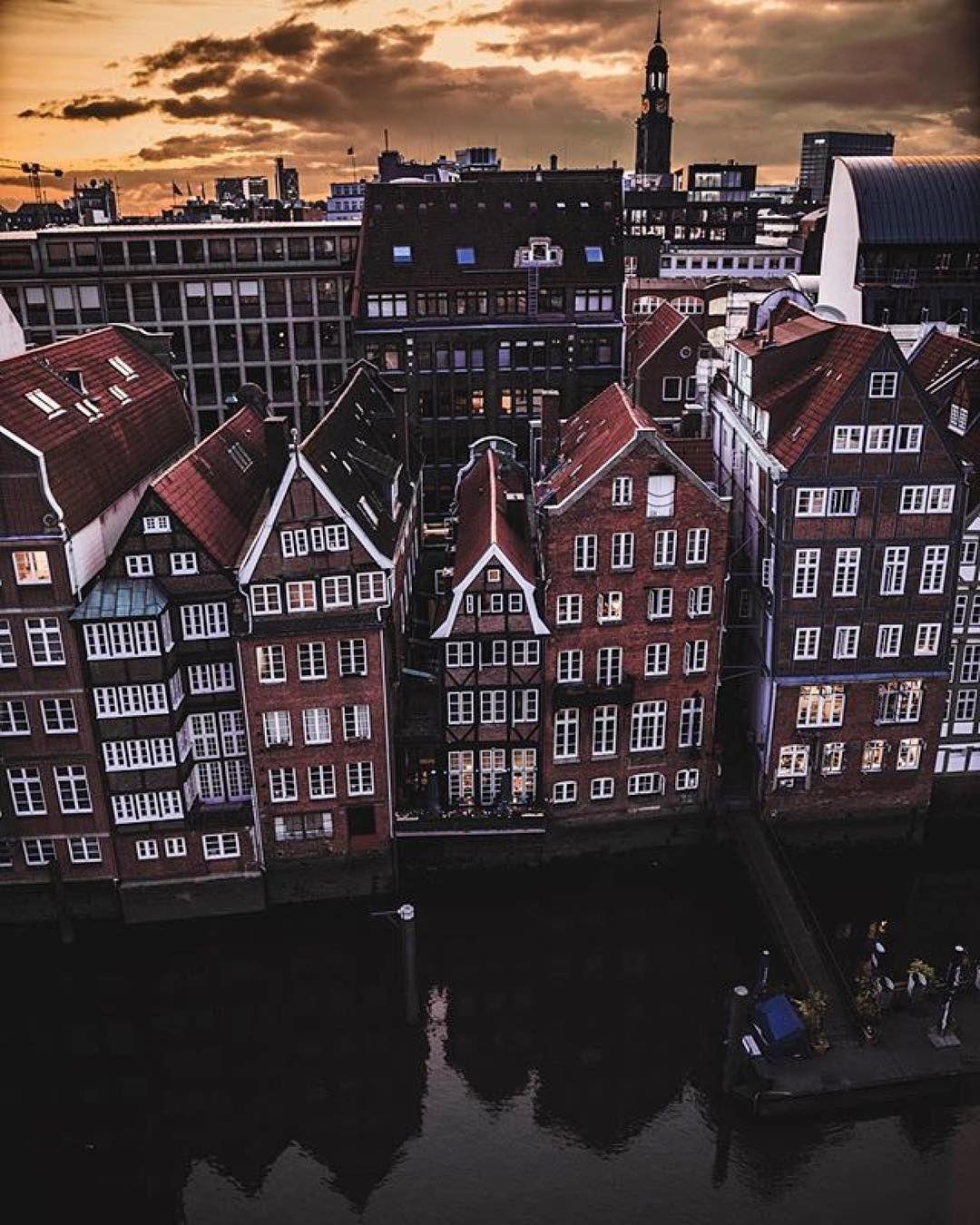 Hamburg Nikolaifleet 2 140 Likes 20 Comments Hamburg Ahoi Hamburgahoi On Instagram Our Phot Of The Week Was Ta Hamburg Germany Germany Travel Germany