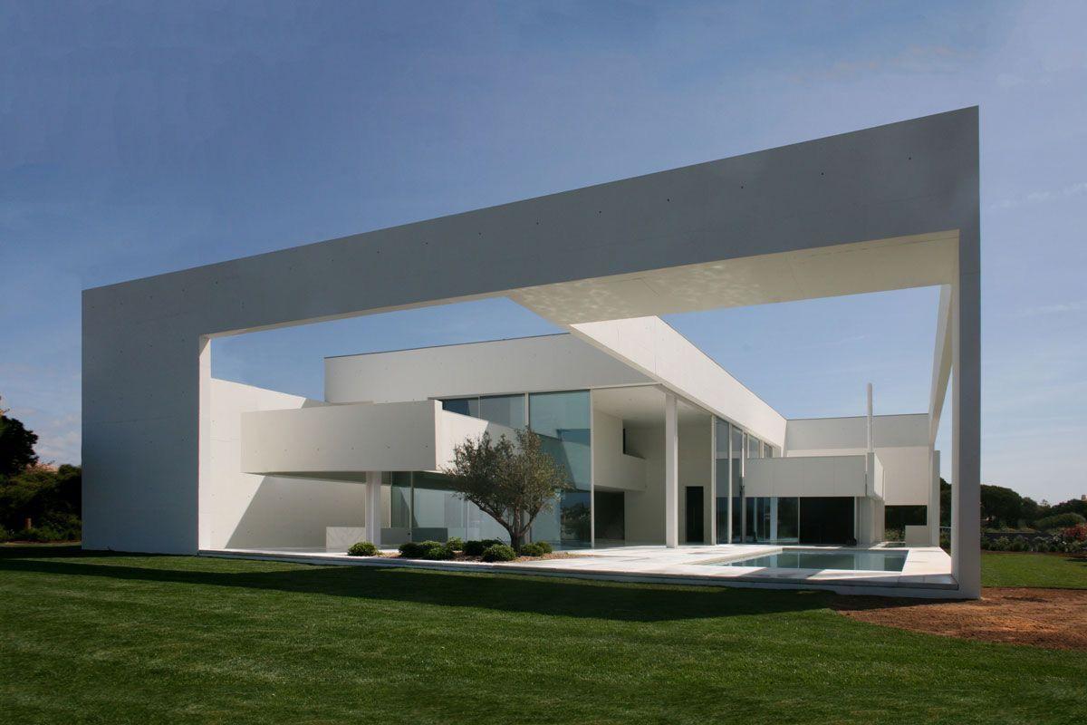 Loule Portugal House In Quinta Do Lago Jean Pierre Porcher
