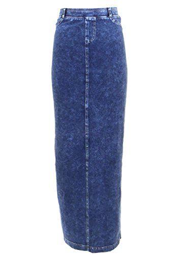 e70aaf99e Hard Tail Hardtail Long Denim Pocket Skirt WJ-111 | WOMEN'S Skirts ...