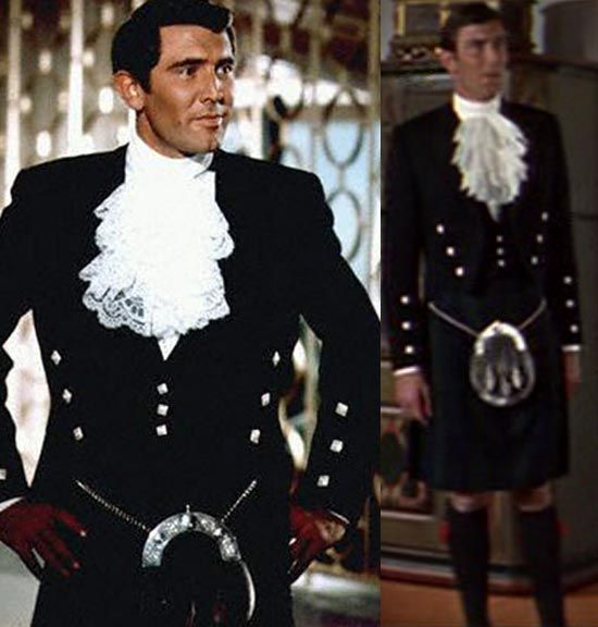 Image result for george lazenby kilt on her majestys secret service