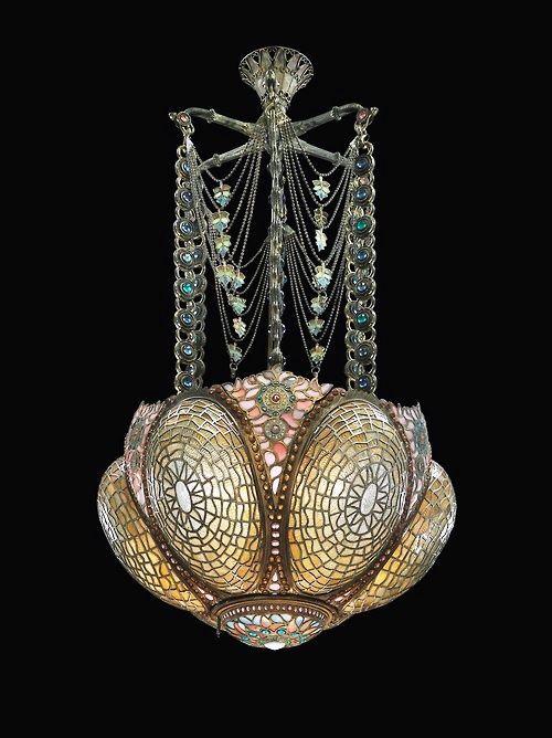 Rare Tiffany Chandelier Antique Lamps, Antique Lighting, Antique Chandelier,  Vintage Lamps, Louis - Rare Tiffany Chandelier Antiques Pinterest Deco, Chandelier