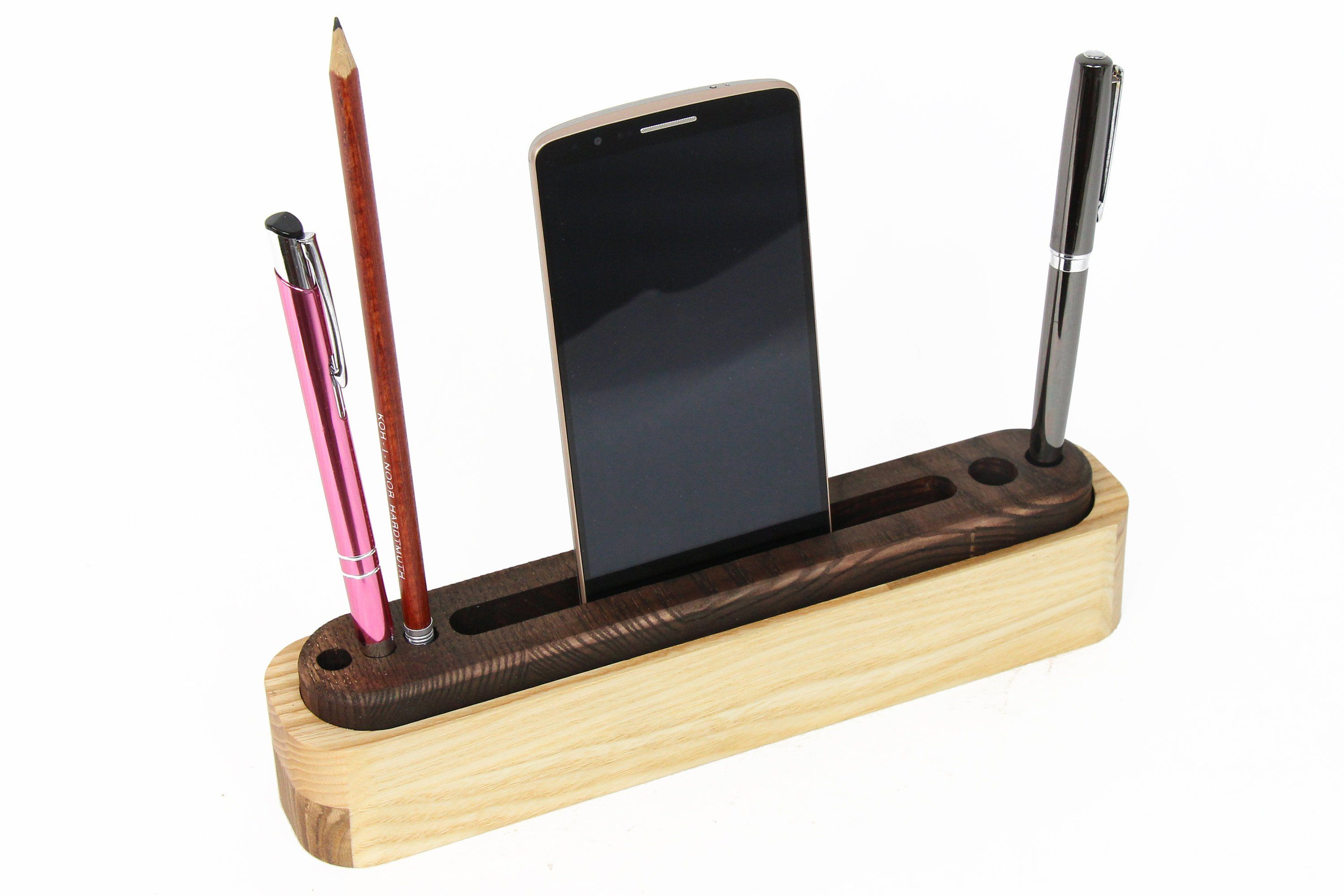 Wood Organizer Wooden Desk Organizer Office Desk Accessories Desk