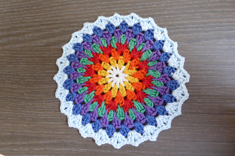 Mandala Patroon Simply Haken 20142 Augusts 2014 Amigurumi