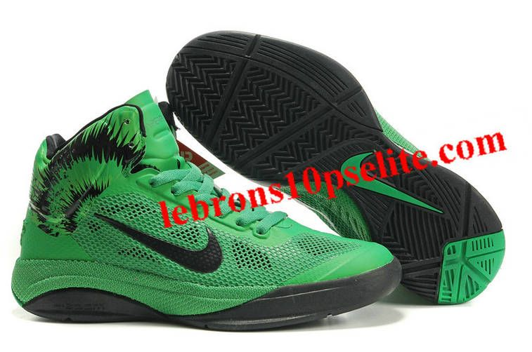 newest 550eb 7ba50 Nike Zoom Hyperfuse XDR 2010 Green Black