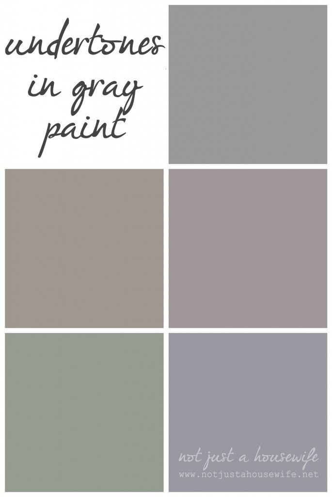 How To Pick Out The Perfect Gray Never Say Story Of My Walls Not Just A Housewife