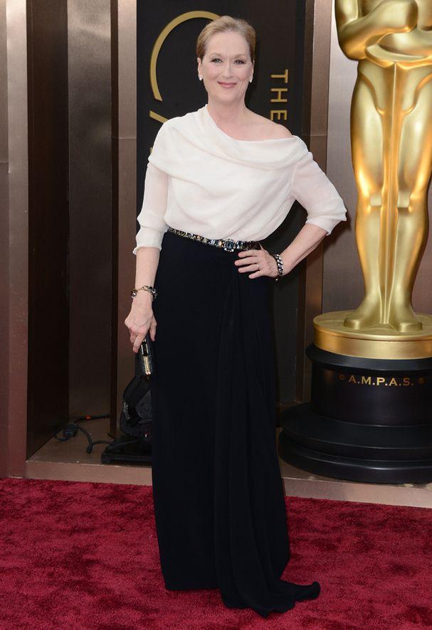 Mery Streep Le tapis rouge des Oscars 2014