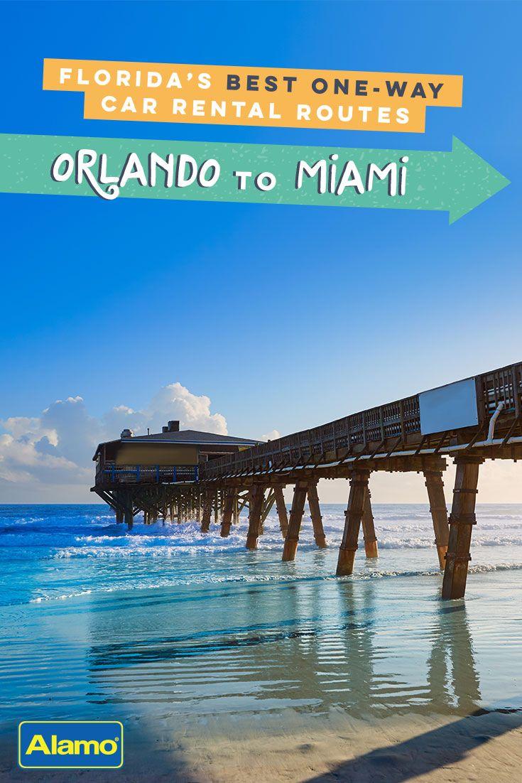 Orlando to miami one way trip itinerary in 2019 beaches