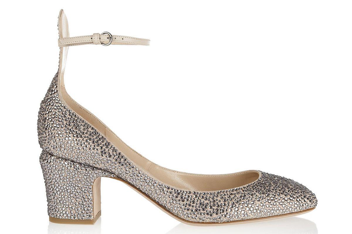 Shoemaniac Zapatos La Tendencia Medio Tacon De Valentino Del xwI0IgqFU