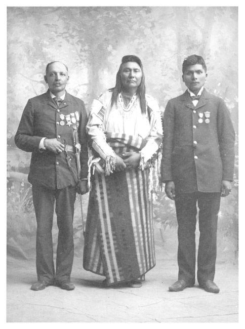 Chief Joseph, Nez Perce Nimiipu, Mr. Scott
