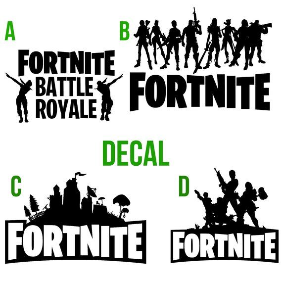 This Listing Is For A Fortnite Decal Only Here Are Some Great
