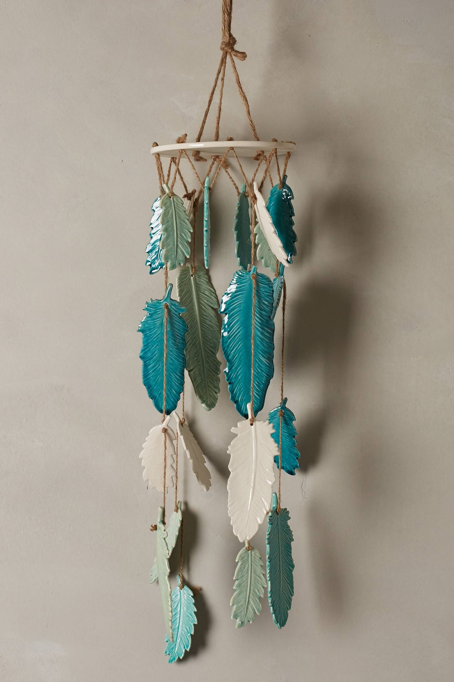 Leaf Or Feather Wind Chime