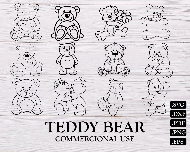 Teddy Bear Svg Bear Svg Teddy Bear Toy Svg Teddy Bear Clipart Bear Silhouette Bear Clipart Cute Bear Svg Teddy Bear Clipart Bear Clipart Bear Silhouette