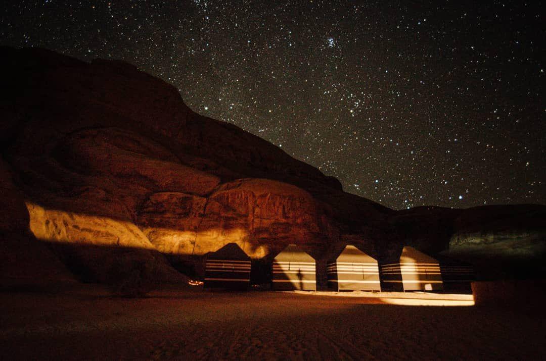 Sky full of stars - Wadi Rum Jordan #wadirum