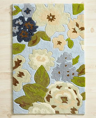 I M Thinking About Making This My Kitchen Rug I Need This In My Life Floral Accent Rug Rugs Floral Rug