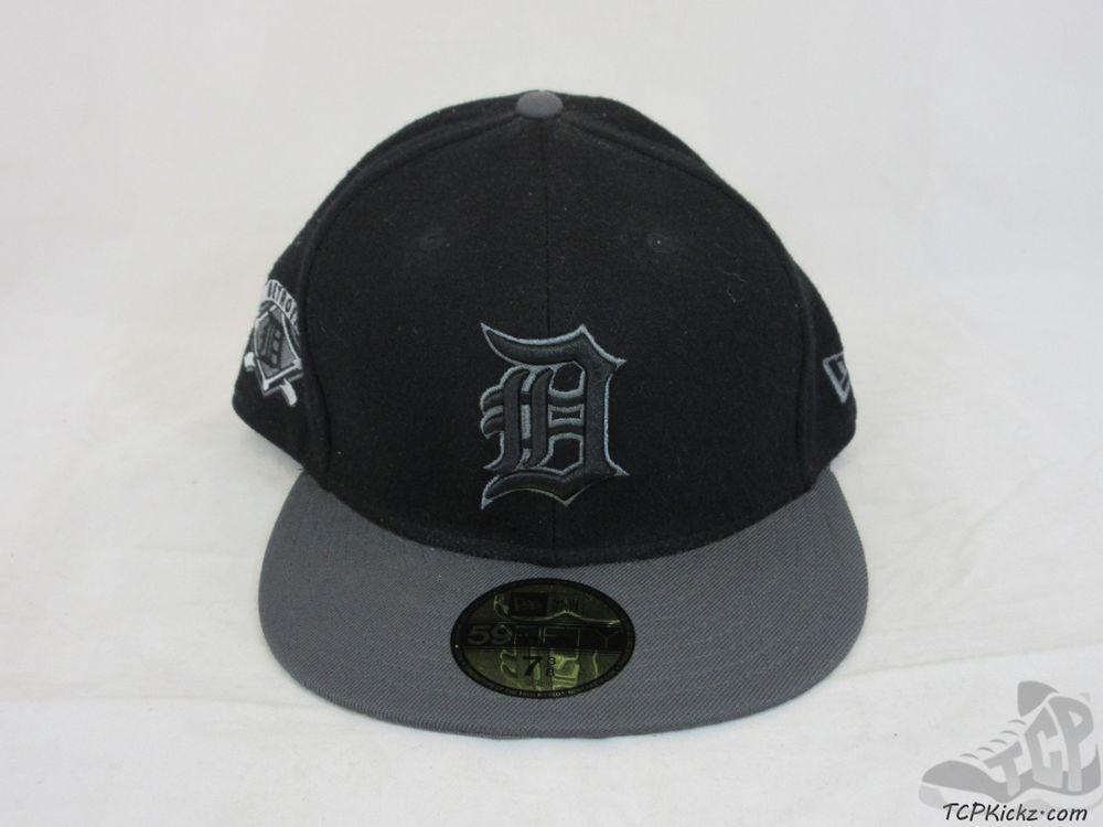 5e351e7d563b4 Mens New Era 59 50 Fifty Detroit Tigers MLB Fitted Baseball Hat Cap AL sz 7  3 8  NewEra  DetroitTigers  tcpkickz
