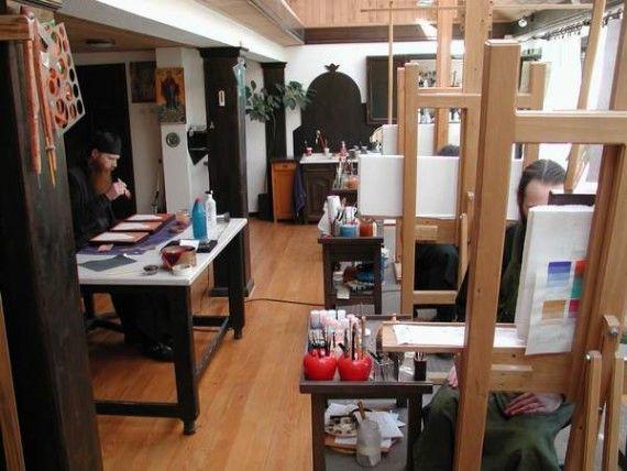 Decani Monastery Icon Studio