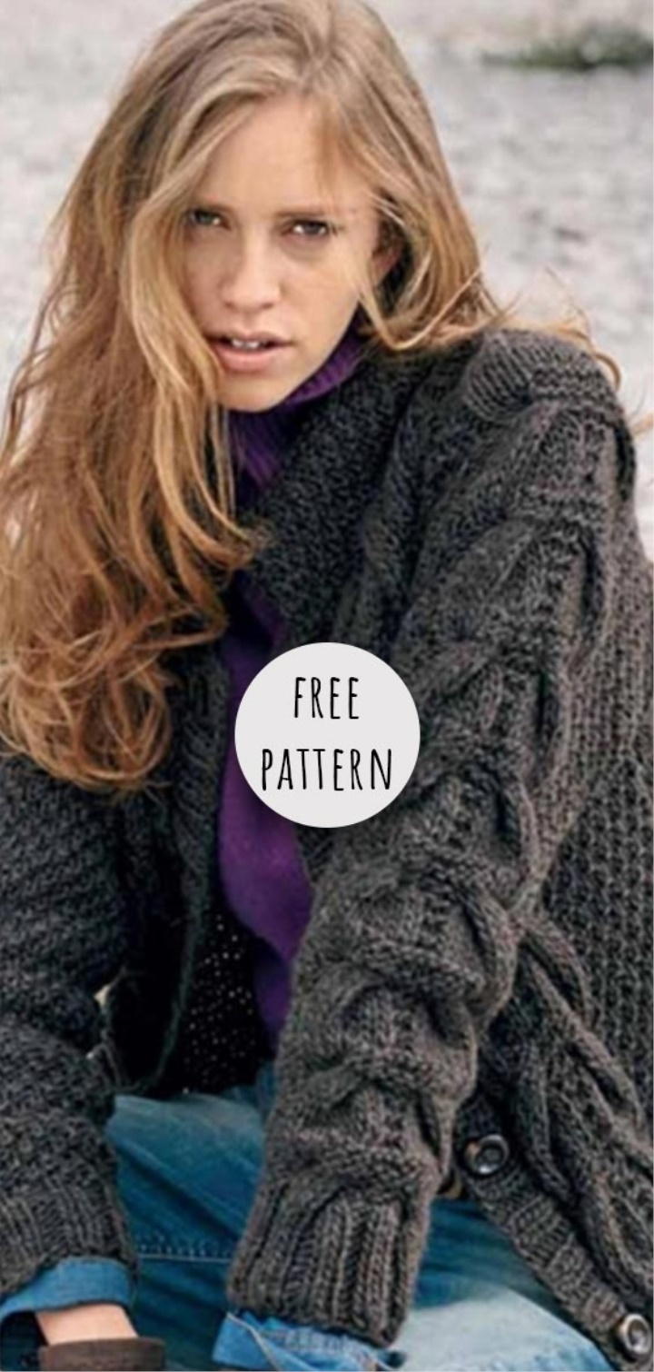 Knitting Cardigan Free Pattern | Knitting patterns free ...