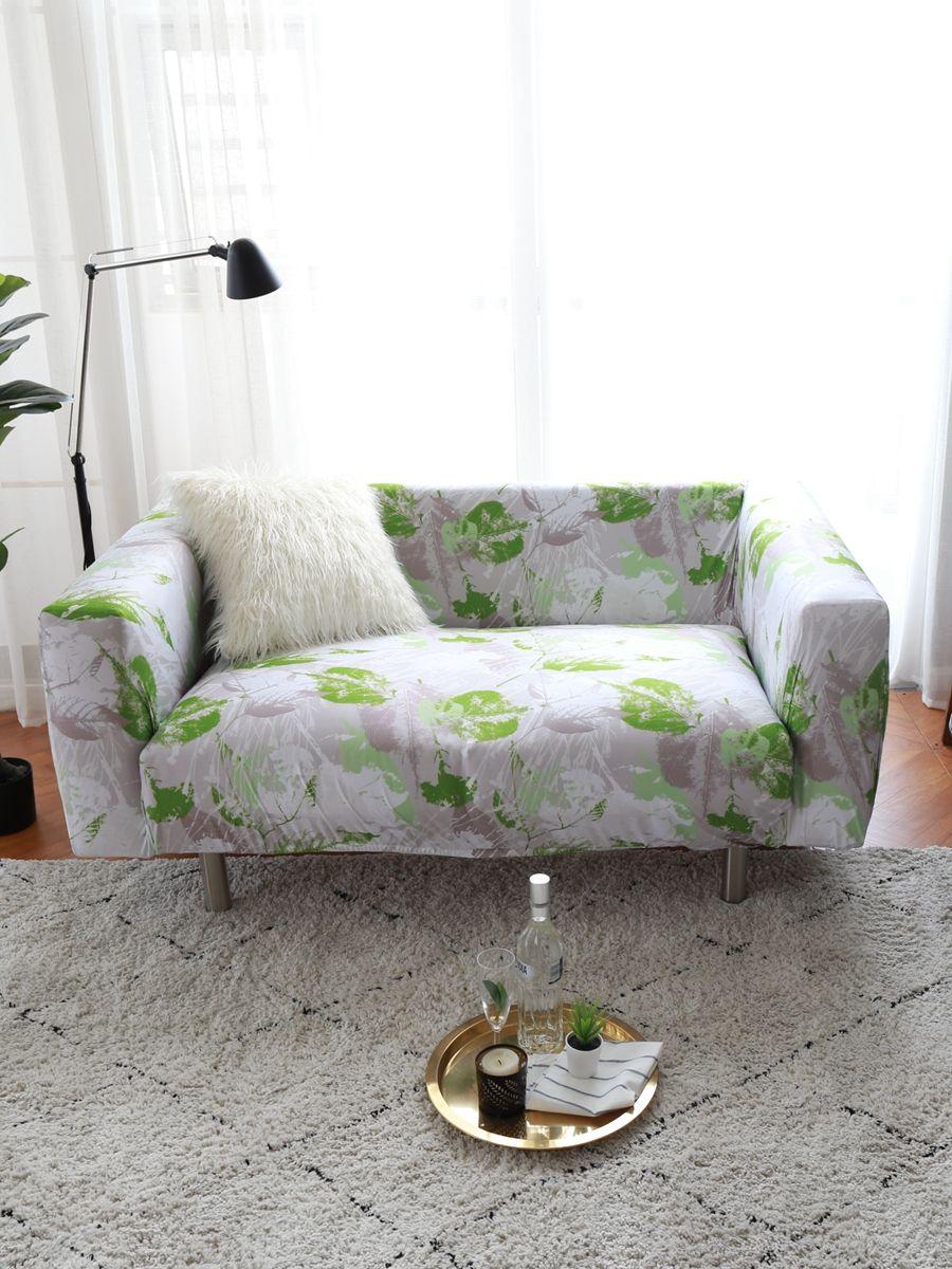 Sofa Cover Floral Printed Elastic Sofa Covers Slipcovered Sofa