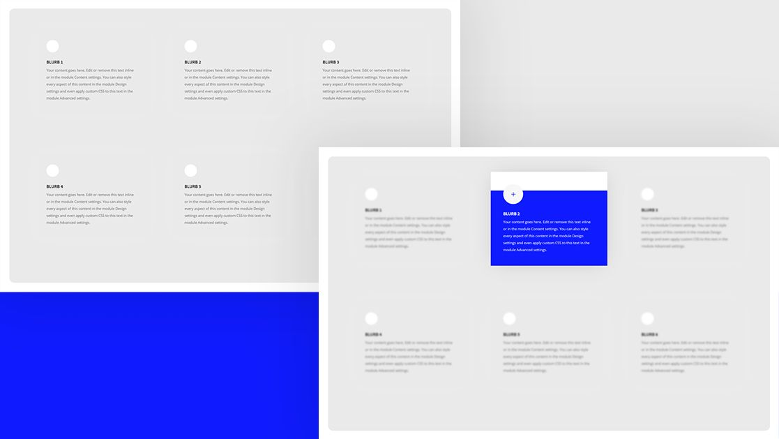 How To Highlight A Hovered Blurb Module By Blurring The Other Ones With Divi In 2020 Web Design Web Design Tutorials Blog Themes