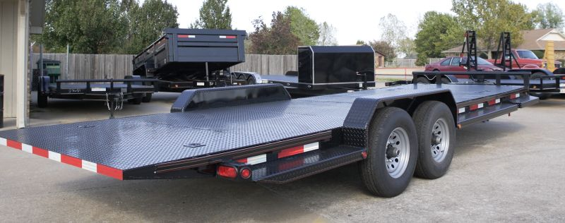 Tilt Bed Trailers We can special order any size trailer