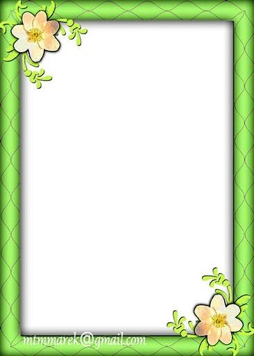 Green And Pink Borders And Frames | www.imgkid.com - The ...