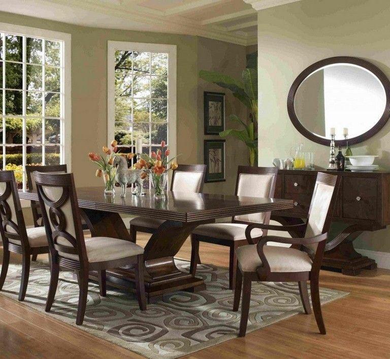 Charming And Cheap Decor Ideas Formal Dining Room: 35 Inspiring Modern Formal Dining Room Sets