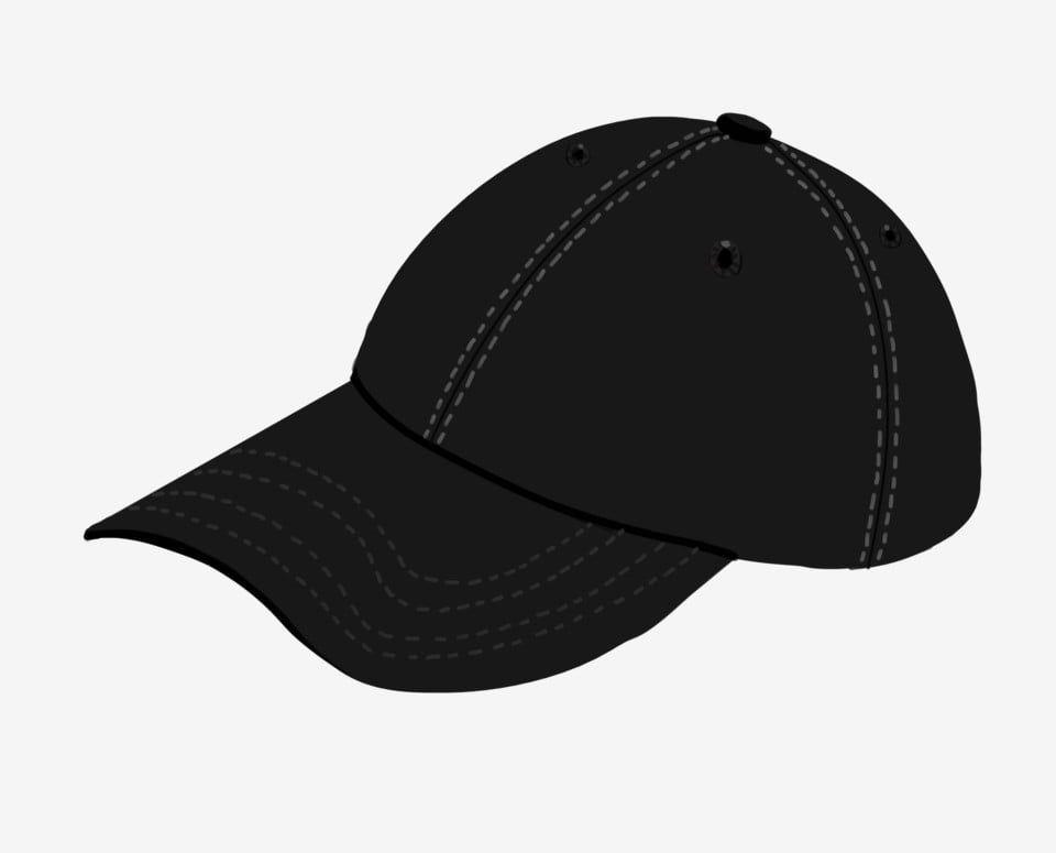 Black Cap Illustration Black Cap Hat Sports Hat Png Transparent Clipart Image And Psd File For Free Download Black Cap Sport Hat Cap