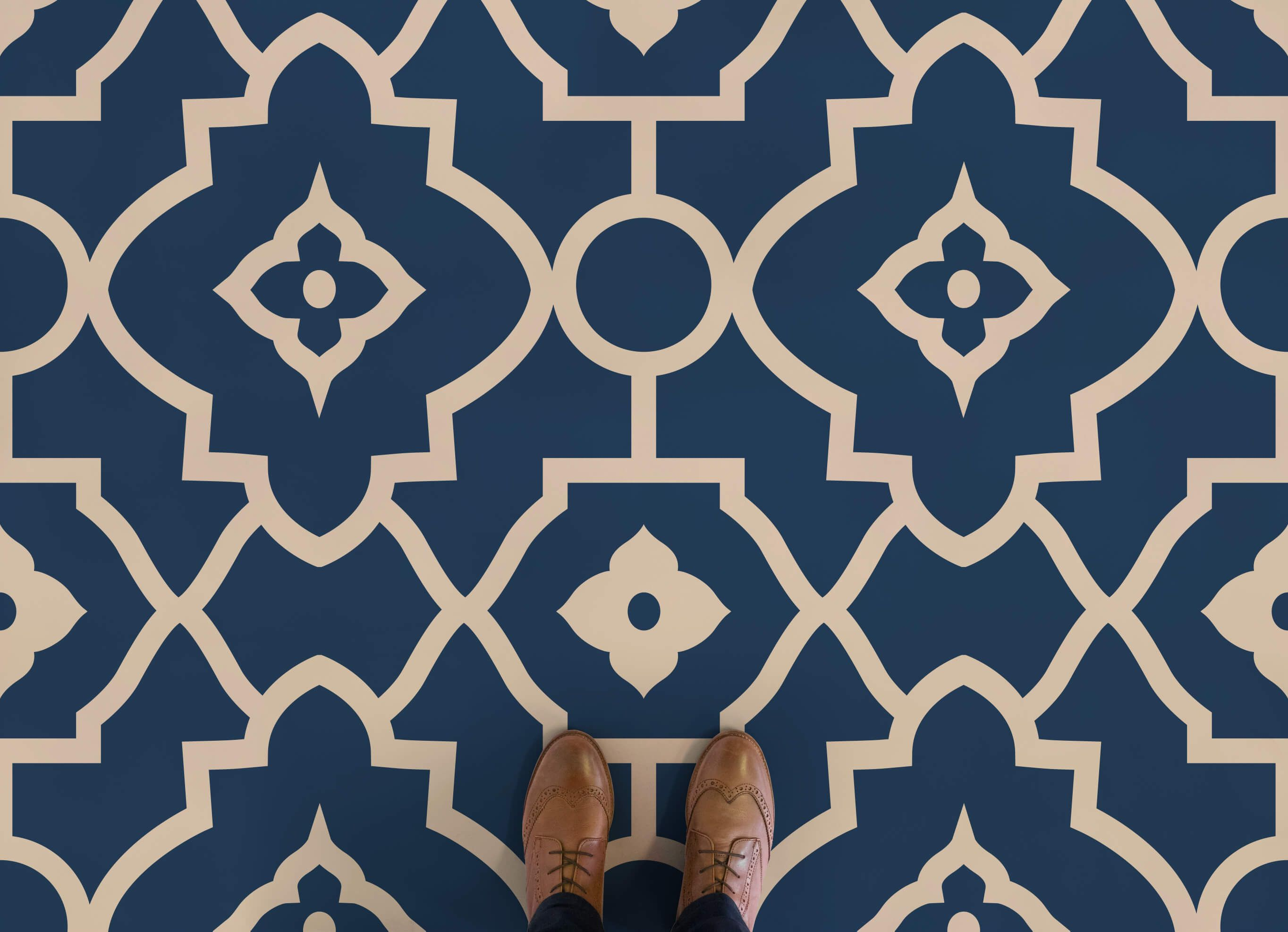Moroccan Design Vinyl Flooring | Commercial, Room and Moroccan design