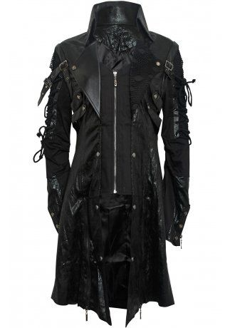 8867faf5c673a Punk Rave Punk Goth Men s Coat