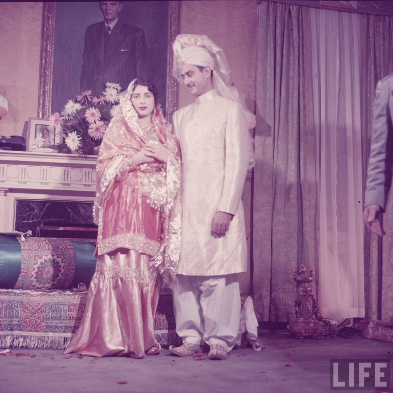 Vintage Wedding Dresses Usa: Wedding Ceremony Of Syed Babar Ali At Pakistan Embassy In