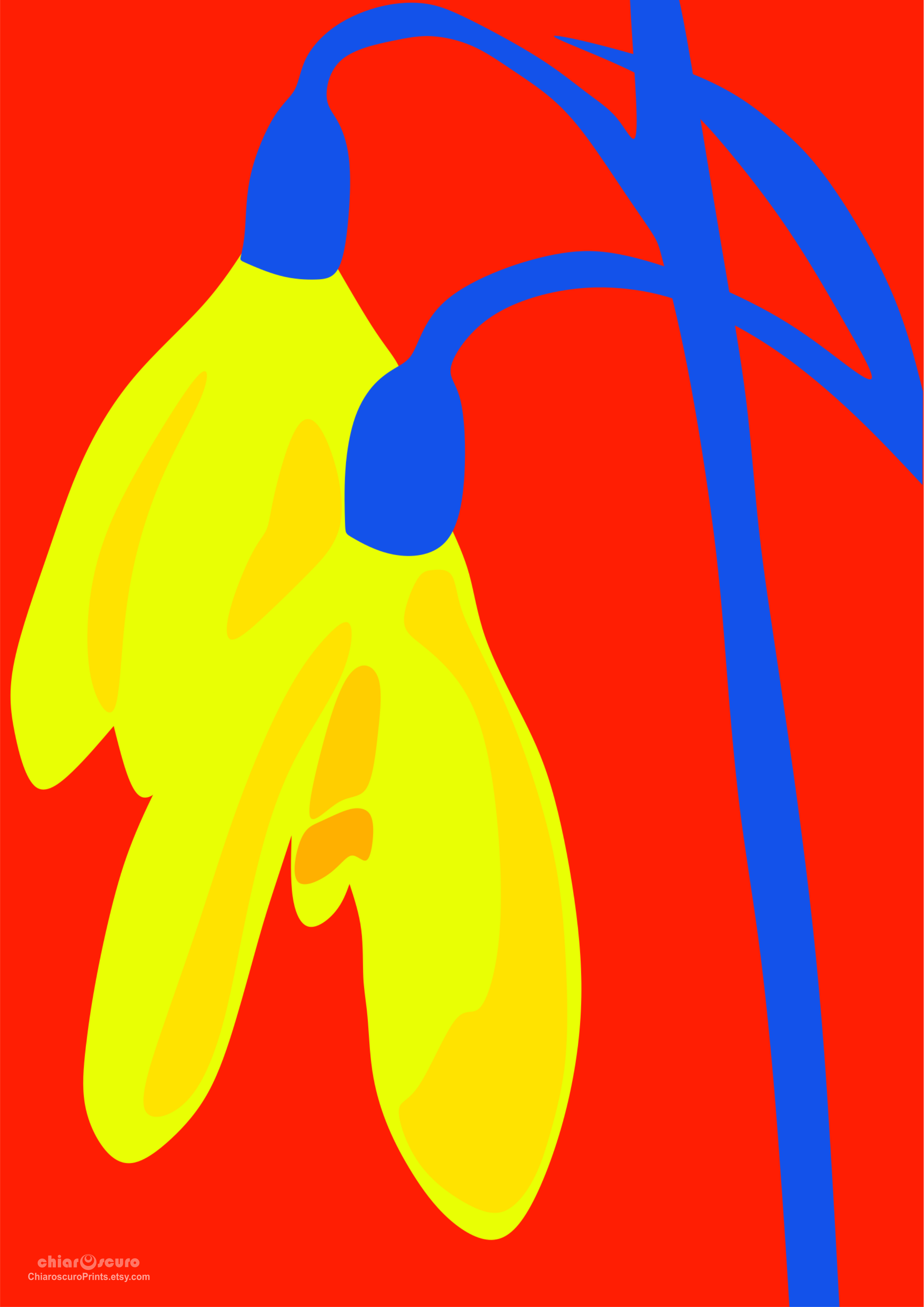 Modern Primary Color Art