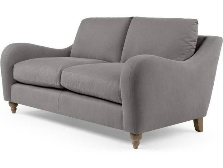 Rosamund 2 Sitzer Sofa Platingrau In 2020 Love Seat Sofa Couch
