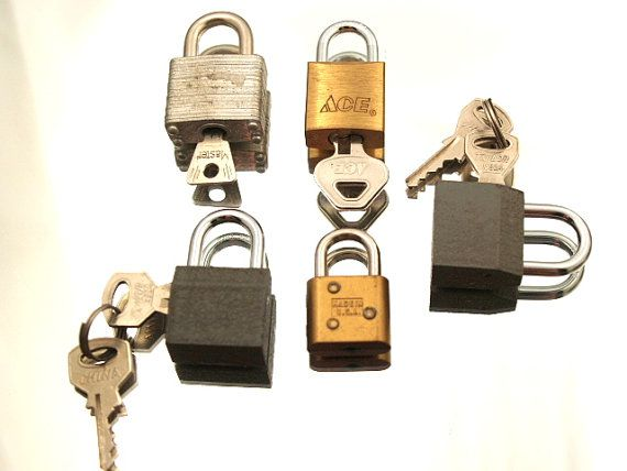 TVAT Two For Tuesday - Locks and Keys by Veronica Thibeault on Etsy