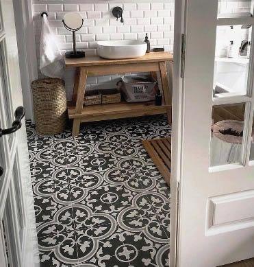 patterned bathroom tiles sydney | patterned bathroom tiles