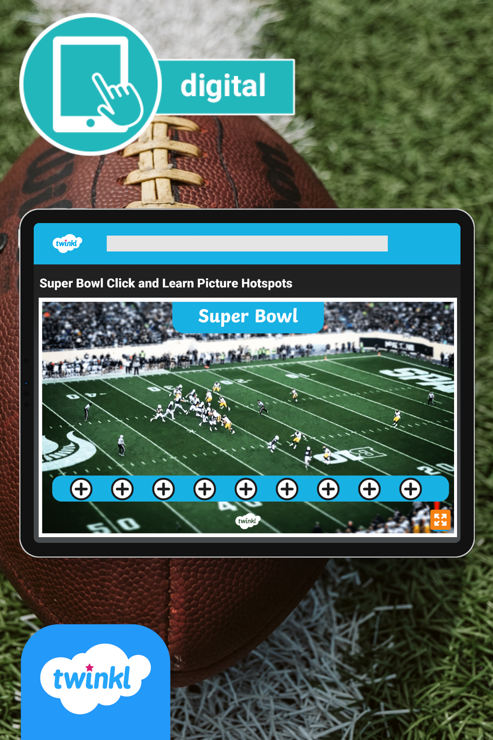 Super Bowl Click And Learn Picture Hotspots For Digital Learning In 2021 Digital Learning Phonics Super Bowl [ 1500 x 1000 Pixel ]