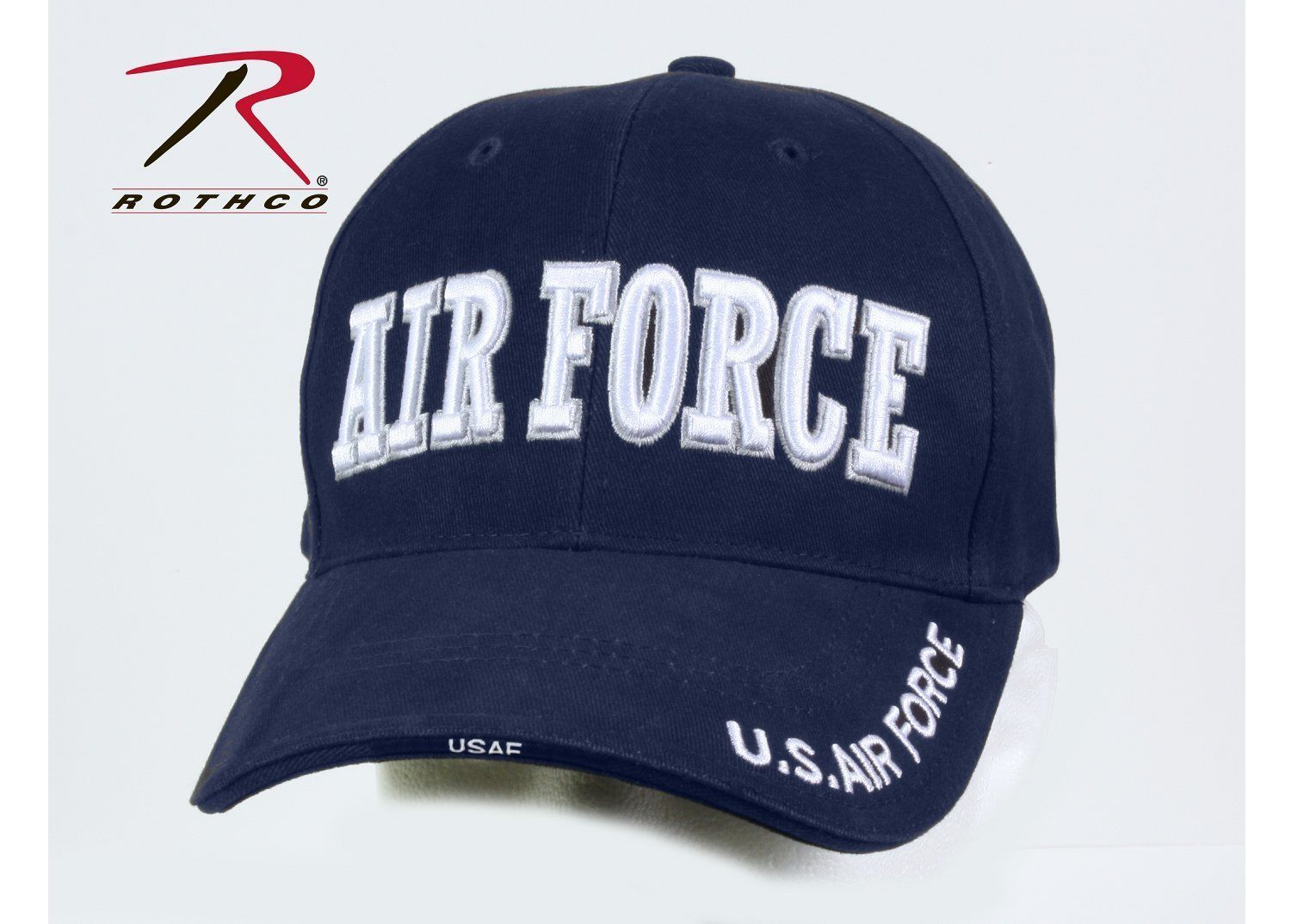 a081d21ae5a58 Rothco 9433 Deluxe Air Force Low Profile Cap - Blue