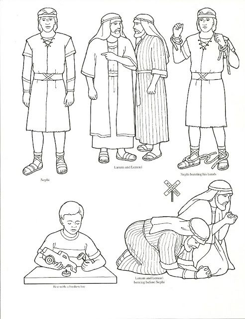 Primary 3 Lesson 19 Lds Coloring Pages