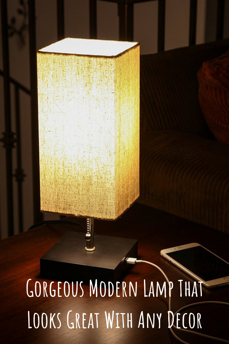 The Grace Led Usb Table And Desk Lamp Looks Beautiful Amid Contemporary Mid Century Modern Or Industrial Decor It Has A Bedside Lamp Modern Lamp Modern Lamp