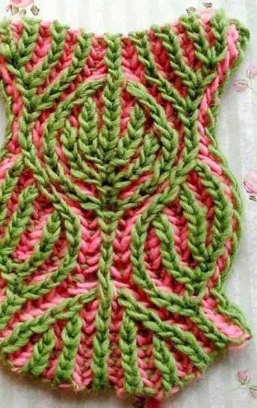 Pin By On Pinterest Brioche Stitch And Crochet