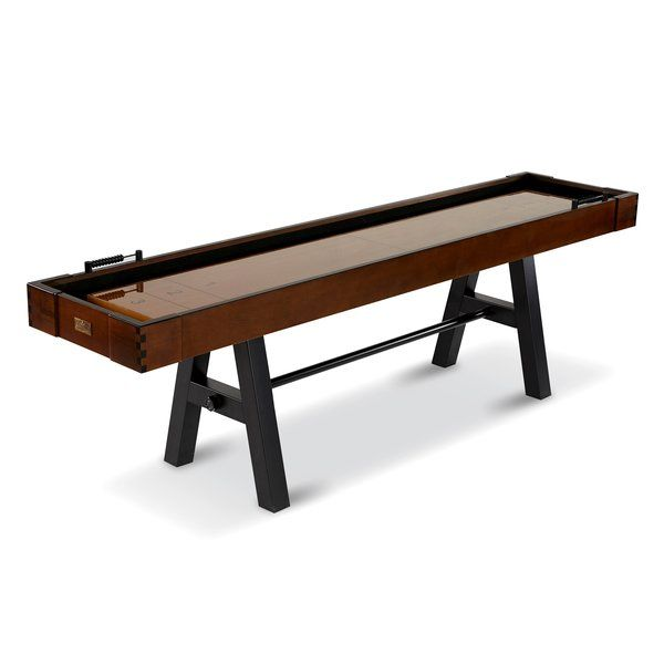 Barrington Allendale 9u0027 Shuffleboard Table, With Solid Metal Leg Design, Is  The Perfect Addition To Any Home Bar Or Game Room. With A Brown And Tan  Palette, ...