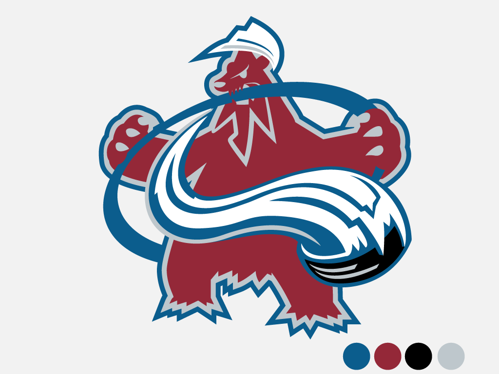 Nhl Pokemon Logos Imgur Pokemon Logo Nhl Logos Colorado Avalanche Logo