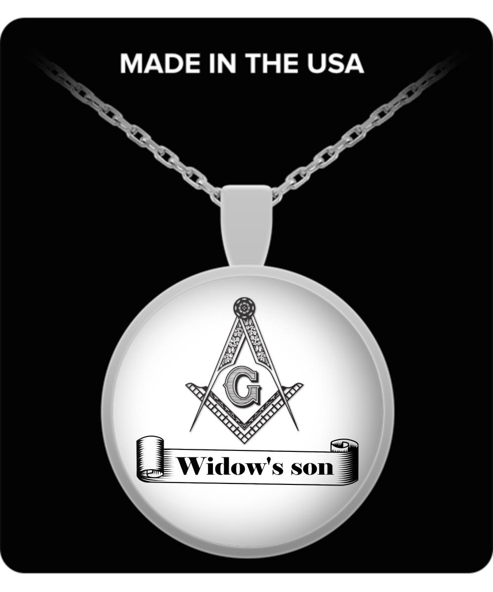 Widows Son Masonic Necklace Freemasonry Accessories Lodge