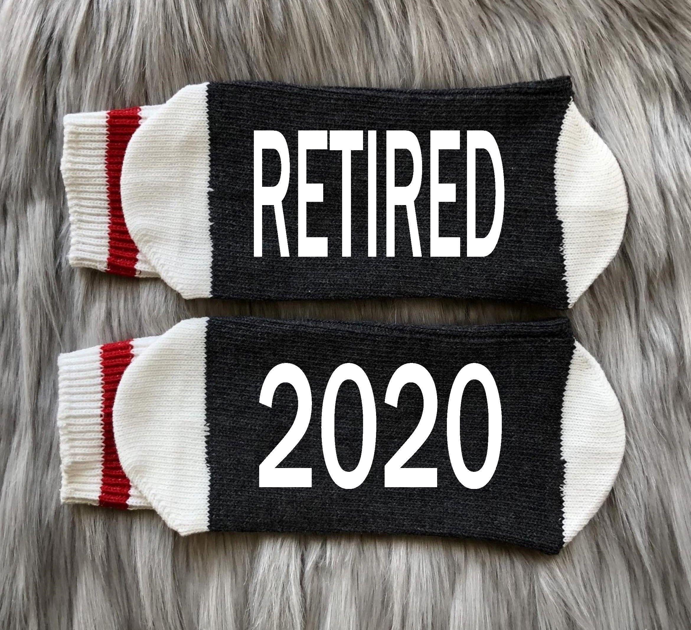 Retired 2020Retired AFRetirement GiftRetirement Socks