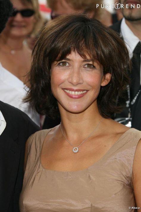 En 2009, Sophie Marceau opte pour un carré et une frange