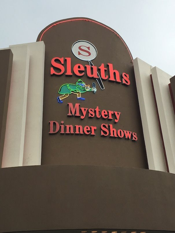 The Diary Of A Jewellery Lover: Sleuths Dinner Show Review - Orlando