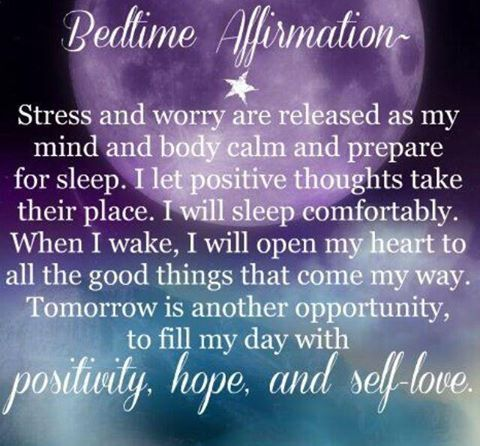 Bedtime Affirmation Quotes Quote Goodnight Good Night Goodnight